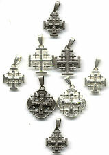 Lot of 8 Religious Jerusalem, Crusaders Crosses From Jerusalem, All New