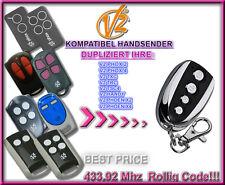 Handsender Duplicator V2 Phoenix, V2 Handy,V2 TSC,V2 TXC,V2 TRC 433.92MHz, KLONE