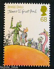 """James And The Giant Peach"" (roald Dahl) se ilustra en 2012 Sello-u/m"