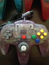 Original Atomic Gray Nintendo 64 N64 Controller for sale! Tested + Fast Shipping