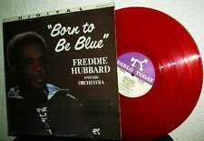 LP FREDDIE HUBBARD - BORN TO BE BLUE * PABLO Digital 1982 USA * RARE RED VINYL
