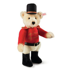 STEIFF Limited Edition Nutcracker Teddy Bear Red black 27cm Gift EAN 034480 New