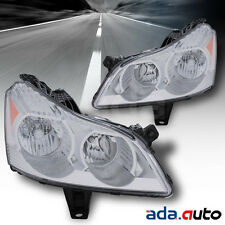 2009-2012 Chevy Traverse LS/LT Halogen Models Headlights Replacement Lamps Pair