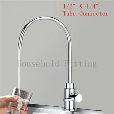 Chrome Brass RO Drinking Water Faucet Tap For  Reverse Osmosis Air Gap Filter