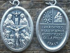 I Am a CATHOLIC Medal + In Emergency, Call a Priest + Wear Your Faith!