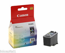 Canon cl-38, Cl38 Color Original Oem Cartucho De Tinta Para Mp140, Mp190