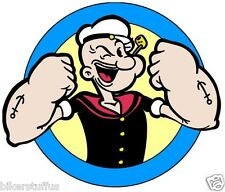POPEYE OK HELMET STICKER HARD HAT STICKER BUMPER STICKER