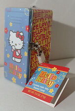 Hello Kitty Locker Bank Tin W Key Sealed w Candy Inside 2003 © Sanrio With Tag