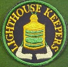 Lighthouse Keepers on Dark Blue Twill Patch