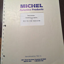 Michel MX-12 Nav Com Install & Service Manual