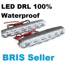2x Waterproof 6LED Daytime Running Light DRL Front Driving Light Day Light
