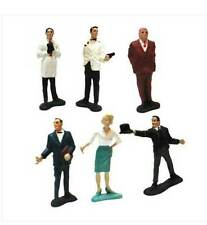 Vintage 1960's James Bond 007 Movie figures by Gilbert Toys Usa RARE
