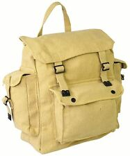 NEW Canvas large pocketed messenger haversack satchel fishing bag h
