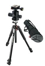 Manfrotto MT055XPRO3 055 3-Section Tripod, Giottos MH1300-657 Ball Head, and Bag