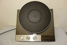 Garrard 401 Transcription Turntable Motor (+ Original documents)