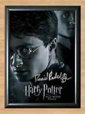Daniel Radclif Harry Potter Signed Autographed A4 Photo Print Poster dvd book