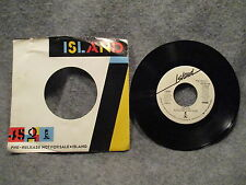"""45 RPM 7"""" Record Frankie Goes To Hollywood Rage Hard 1986 Island Promo 7-99502"""