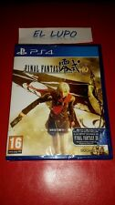 FINAL FANTASY TYPE-0 HD SONY PS4 NEUF SOUS BLISTER VERSION FRANCAISE