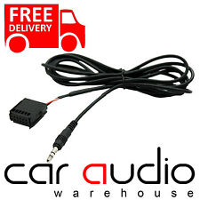 FORD 6000CD Car Radio MP3 iPod iPhone HTC Aux In Input Cable Adaptor CT29FD04