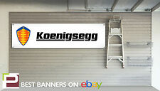Koenigsegg Workshop Garage Banner, CCX, regera, agera