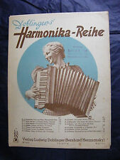 Partition Dobliger's Harmonika Reihe N°13 Schneider 1940  Music Sheet
