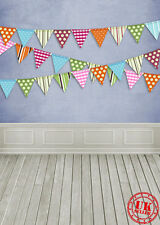 BLUE FLAGS BABY CAKE SMASH BACKDROP BACKGROUND VINYL PHOTO PROP 7X5FT 220X150CM