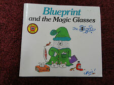 BLUEPRINT AND THE MAGIC GLASSES  BY NICKI GREENBERG (LITTLE BOOKLET)=