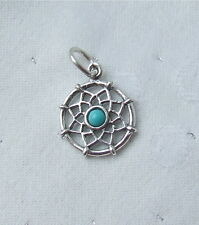 DREAMCATCHER DREAM CATCHER 3D CHARM 925 STERLING SILVER