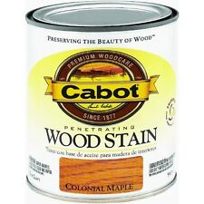 Quart Colonial Maple Interior Oil-Based Wood Stain by Cabot 8123