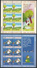 VATICANO - Europa - Libri per l'infanzia 2010 2 x Foglietti **