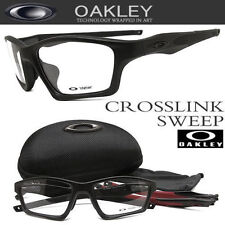 Oakley Eyeglasses CROSSLINK SWEEP OX8033-0555 Authentic Black Authentic New 55mm
