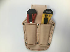 Utility Leather Holder Case (No Blade) Useful Tool for Handy Man Belt DIY GADGET
