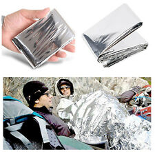 Outdoor Waterproof Emergency Survival Foil Thermal First Aid Rescue Blanket 1PCS