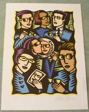 Burton Morris Signed and numbered Serigraph / Lithograph Never mounted  #23/120