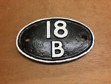 British Rail 18B Westhouses Shed Plate Deltic