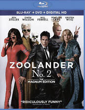 ZOOLANDER 2 (Blu-ray/DVD, 2016, Includes Digital Copy) NEW WITH SLEEVE