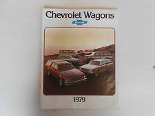 1979 Chevy Wagons Product Brochure