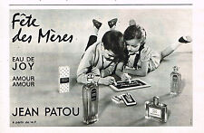 PUBLICITE ADVERTISING 035  1964   JEAN PATOU parfum  EAU DE JOY AMOUR AMOUR