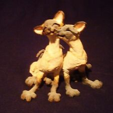 #70420 Country Artists, A Breed Apart, Siamese Cat Figurine PING & PONG