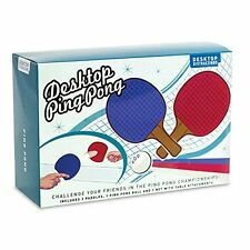 Desktop Ping Pong toy office gift secret Santa, includes paddles balls and net