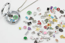 Wholesale 50pcs floating charm for glass living memory locket necklace Jewelry