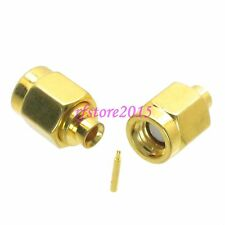 "1pce Connector SSMA male plug solder RG405 0.086"" cable RF COAXIAL straight"