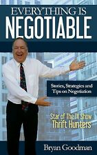 Everything is Negotiable book SIGNED by Author Bryan Goodman of Thrift Hunters
