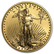 2006 1/4 oz Gold American Eagle Coin - Brilliant Uncirculated - SKU #11966