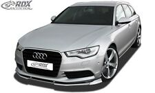 Lip spoiler,Bumper, Extension, Splitter,Front Spoiler AUDI A6 C7 - True1Blue