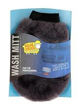 Lambs Wool Wash Mitt Genuine Sheepskin Lambswool For Car Washing & Polishing