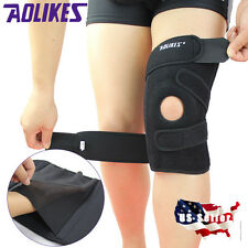 Breathable Knee Patella Pad Support Brace Wrap Cap Stabilizer Sports Velcro