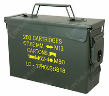 US M19A1 .30 CAL AMMO CAN - Repro American US Army Ammunition Tin Box Container