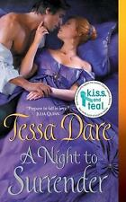 NEW - A Night to Surrender (Spindle Cove) by Dare, Tessa