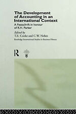The Development of Accounting in an International Context: A Festschrift in Hono